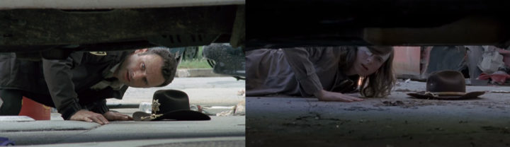 ウォーキングデッド シーズン8 第1話 シーズン1 第1話 似てる