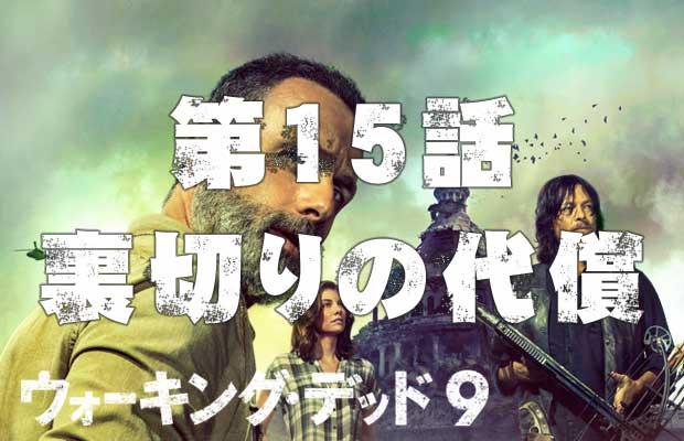 ウォーキングデッド シーズン9 第15話